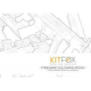 Firearm Coloring Book