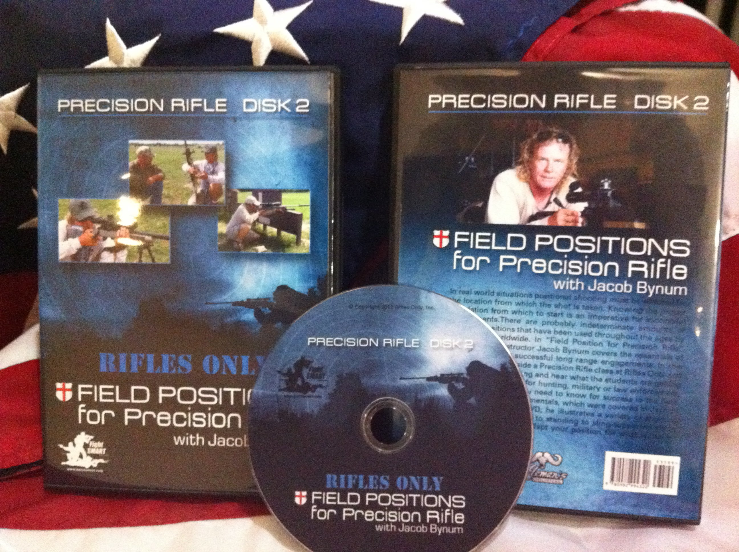 Rifles Only Precision Rifle Disk 2: Field Positions for Precision Rifle